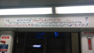 Erasmus v Řecku metro