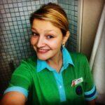 Adéla v pracovní uniformě