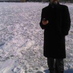 Zamrzly Huron - záliv