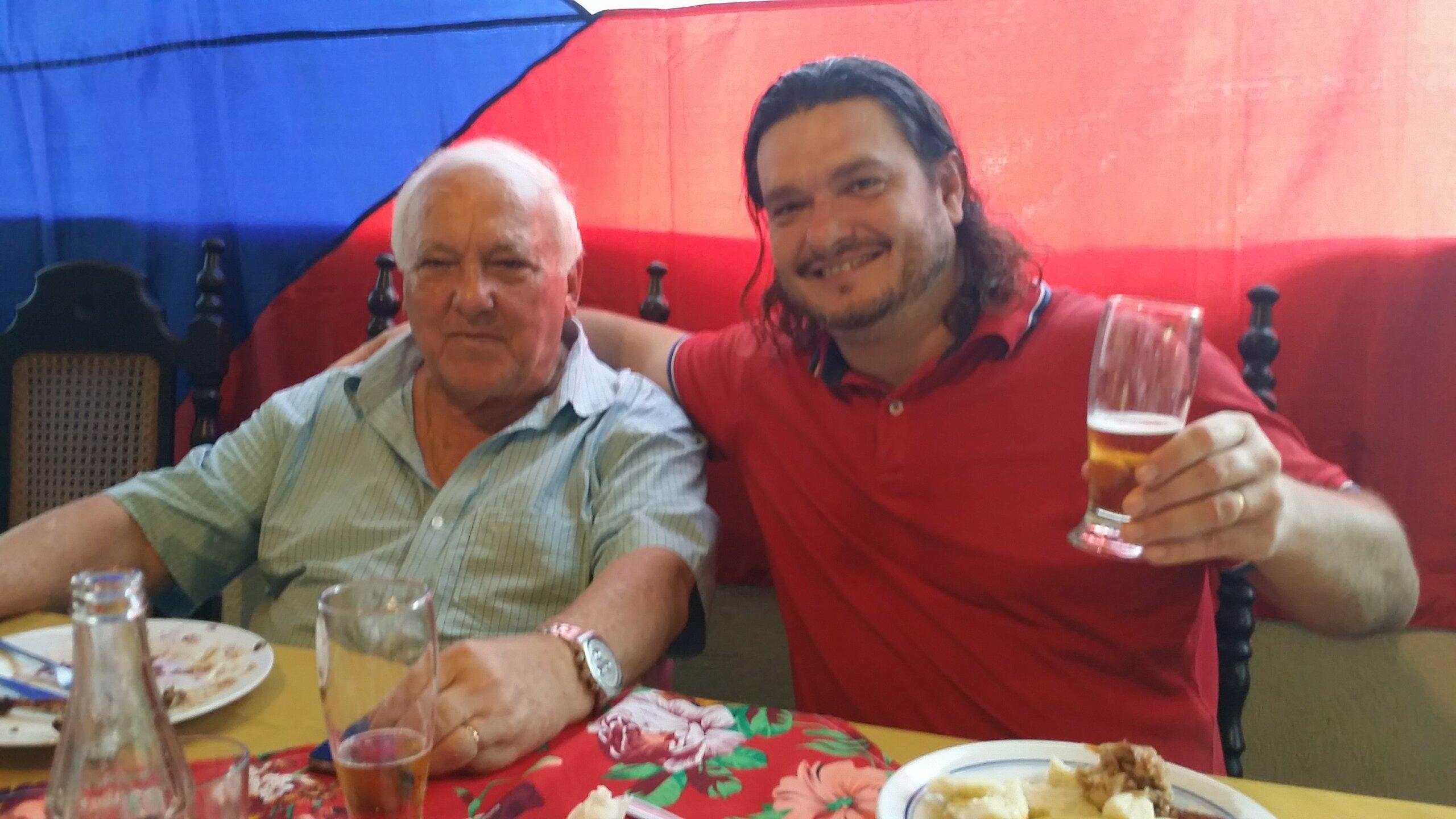 Ivan Zábojník a Alfredo Sobotka