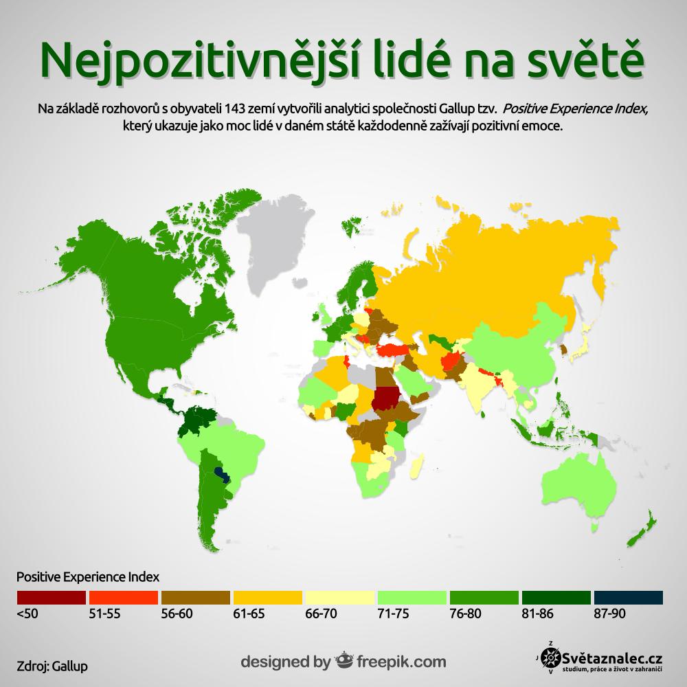 Mapa pozitivnosti