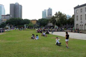 Prostranství před festival parkem