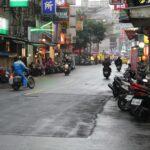 Naše ulice po dešti.