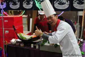 Tohle je jeden z mála kuchařů, kteří to na Taiwanu dotáhli do TOP! Má styl.
